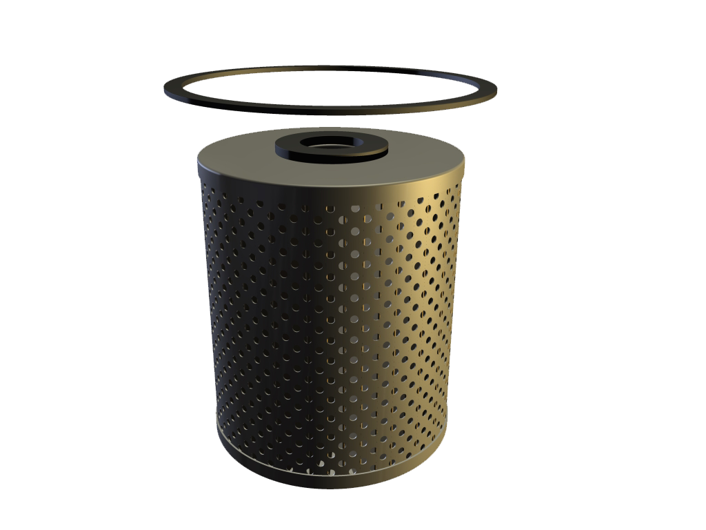 Oil Filter, Canister Type